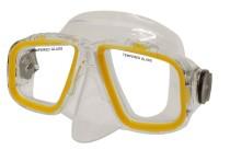 Potápěčská maska Calter Senior 229P žlutá