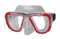 Potápěčská maska Calter Senior 238P červená