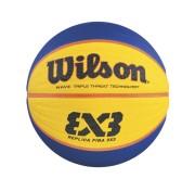 Basketbalový míč Wilson FIBA 3X3 Replica Rubber č. 7