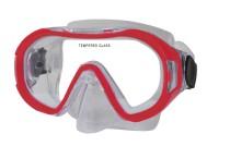 Potápěčská maska Calter Kids 168P červená