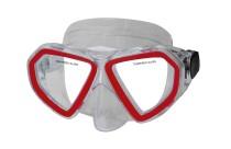 Potápěčská maska CALTER KIDS 285P, červená