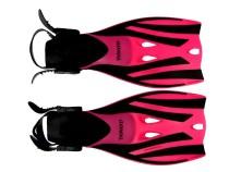 Páskové ploutve Dovod X-Lite vel. 27-30 růžové