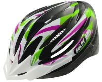 Cyklistická helma Sulov Alessia fialovo-zelená