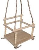 Dětská dřevěná houpačka ACRA 05-HP1
