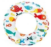 Plavecký kruh Intex Ryby 61cm