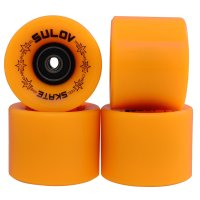 Kolečka Penny board Sulov Mat Orange 60x45mm, 4ks