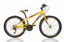 Chlapecké sportovní kolo Dino 1024G žluté 24