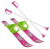 Dětské lyže SULOV 70cm, růžové