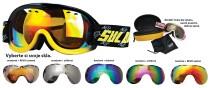 Sjezdové brýle Sulov Passo dvojsklo černo-žluté