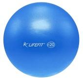Míč overball Lifefit 20cm modrý