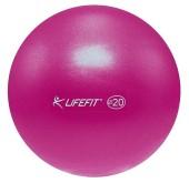 Míč overball Lifefit 20cm bordó