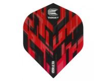 Letky Target - darts Vision Ultra No2 Sierra - Red