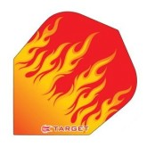 Letky Target - darts Vision 100 Standard Yellow Flames