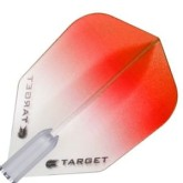 Letky Target - darts Vision 100 Standard Colour Fade Red