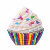 Nafukovací lehátko Intex 58770 Cupcake 142x135cm