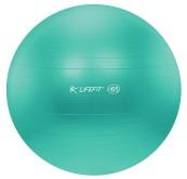 Gymnastický míč Lifefit Anti-Burst 65cm tyrkysový
