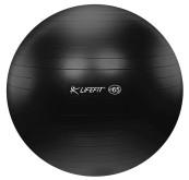 Gymnastický míč Lifefit Anti-Burst 65cm černý