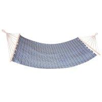 Houpací síť Spokey Zuni do 120 kg modro-bílá