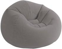 Nafukovací křeslo Intex Beanless Bag Chair šedé