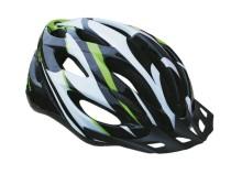 Cyklistická přilba Sulov Spirit černo-zelená