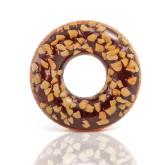 Plavecký kruh Intex 56262 Čokoládový donut 114cm