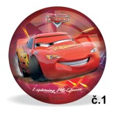 Míč potištěný Cars 3 Mondo 23cm