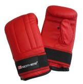 Boxerské kožené rukavice Acra pytlovky vel.M