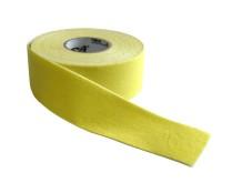 Kinezio tape Acra 2,5cm x 5m žlutý