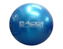 Gymnastický míč Acra S3214 modrý 85cm