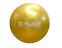 Gymnastický míč Acra S3215 žlutý 65cm