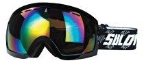 Lyžařské brýle Sulov Hornet dvojsklo �erné mat