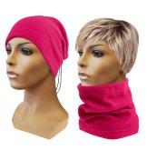 Multifunkční šátek 2v1 Fleece růžový