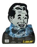 Sportovní šátek s flísem Sulov černo-modrý