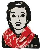 Sportovní šátek Sulov červeno-bílý