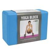 Pěnová kostka - Yoga Block Yate modrá 7,6cm
