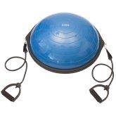Balanční míč Yate Half Ball 62cm modrá
