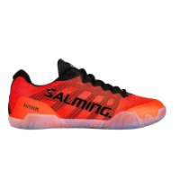 Sálová obuv Salming Hawk Shoe Men Black/Lava Red