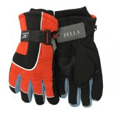 Dětské zimní rukavice Bella Accessori 9010-2 oranžová