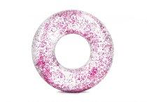 Nafukovací kruh Intex Glitter Pink 119cm