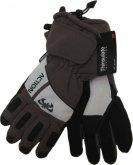 Pánské lyžařské rukavice Action GS383 šedé
