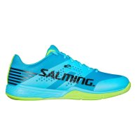 Sálová obuv Salming Viper 5 Shoe Men Blue Atol/Fluo Green
