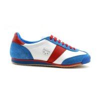 Sálová obuv Botas Classic 911 bílo/modro/červená