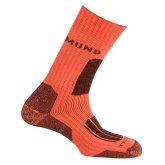 Trekingové ponožky Mund Everest oranžové
