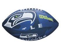 Míč na americký fotbal Wilson NFL Team Logo FB SE JR