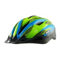 Dětská cyklo helma SULOV JR-RACE-B modro-zelená