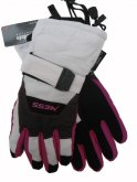 Lyžařské rukavice Mess junior GS440 bílé