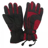 Dámské lyžařské rukavice Lucky B-4155 červené