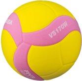 Volejbalový míč Mikasa VS170W růžovo/žlutý