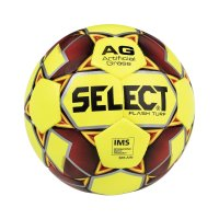 Fotbalový míč Select FB Flash Turf žluto/červená vel.4