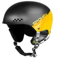 Lyžařská přilba Spokey Apex černo-žlutá, vel. L/XL